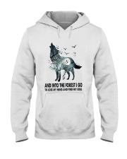 Wolf Soul  Hooded Sweatshirt thumbnail