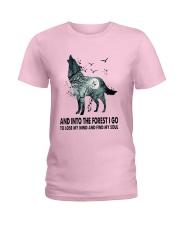 Wolf Soul  Ladies T-Shirt thumbnail