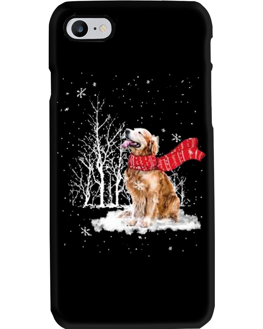 Golden Retriever Snow Phone Case