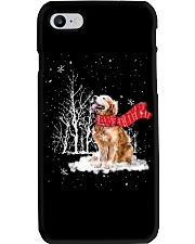 Golden Retriever Snow Phone Case i-phone-7-case