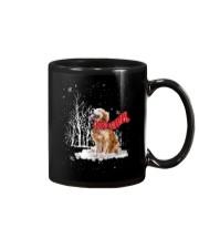 Golden Retriever Snow Mug thumbnail