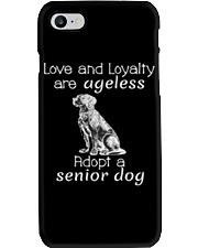 Adopt a Senior Dog  Phone Case thumbnail