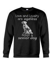 Adopt a Senior Dog  Crewneck Sweatshirt thumbnail
