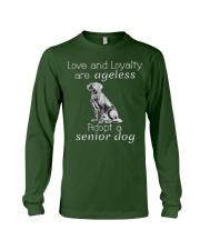 Adopt a Senior Dog  Long Sleeve Tee thumbnail