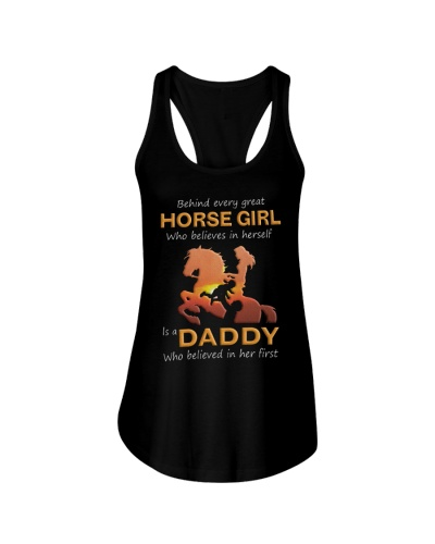 Behind Every Horse Girl Gift For Daddy
