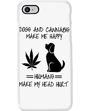 Dogs And Cannabis Happy Phone Case thumbnail