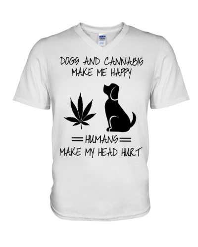 Dogs And Cannabis Happy