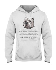 From - Your Pitbull - Hooded Sweatshirt front