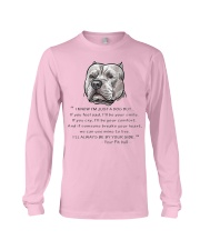 From - Your Pitbull - Long Sleeve Tee thumbnail