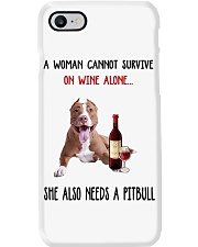 Woman Needs A Pitbull Phone Case tile