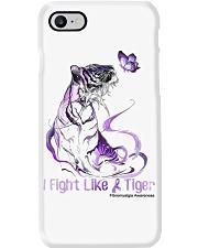 Fight Like Tiger Phone Case thumbnail
