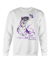 Fight Like Tiger Crewneck Sweatshirt thumbnail