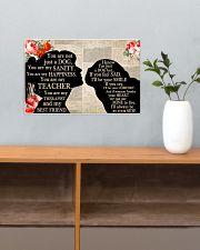 Pug Girl Therapist Best Friend 17x11 Poster poster-landscape-17x11-lifestyle-24