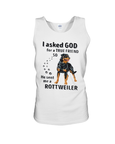 God Sent Me A Rottweiler