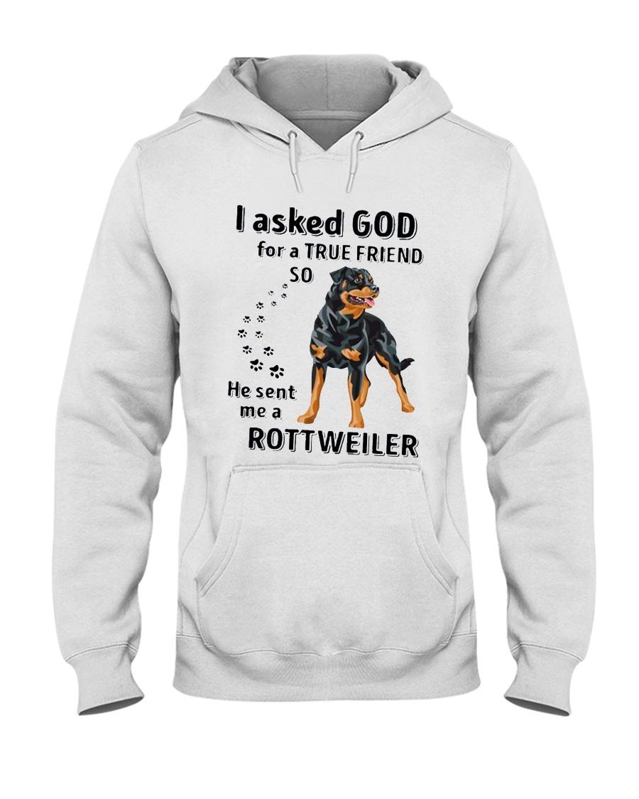 God Sent Me A Rottweiler Hooded Sweatshirt