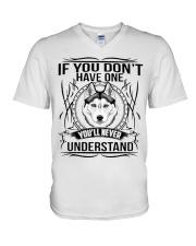if You Don't Have Husky V-Neck T-Shirt thumbnail