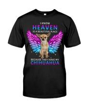 Chihuahua Heaven Classic T-Shirt front