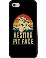 Pitbull Resting Face Phone Case thumbnail