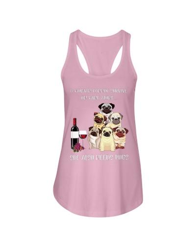 Woman Need Pugs