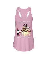 Woman Need Pugs Ladies Flowy Tank thumbnail
