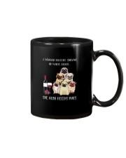 Woman Need Pugs Mug thumbnail