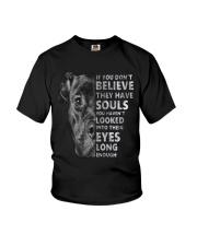 Pitbull Believe  Youth T-Shirt thumbnail