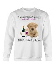 A Woman Also need A Labrador Crewneck Sweatshirt thumbnail