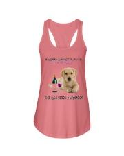 A Woman Also need A Labrador Ladies Flowy Tank thumbnail