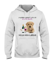 A Woman Also need A Labrador Hooded Sweatshirt thumbnail