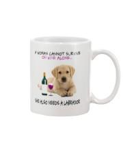 A Woman Also need A Labrador Mug thumbnail