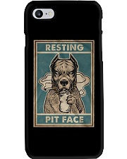 Pitbull Resting Phone Case thumbnail