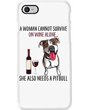 Woman Needs Pitbull Phone Case thumbnail