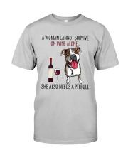 Woman Needs Pitbull Classic T-Shirt thumbnail