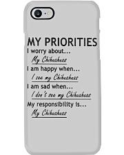 Chihuahua My Priorities  Phone Case thumbnail