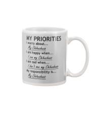 Chihuahua My Priorities  Mug thumbnail