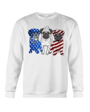Pugs Flag Crewneck Sweatshirt tile
