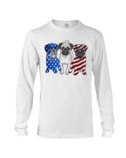 Pugs Flag Long Sleeve Tee thumbnail