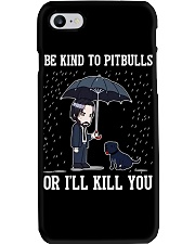 Be Kind To Pitbulls Phone Case tile