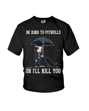 Be Kind To Pitbulls Youth T-Shirt thumbnail