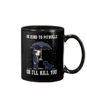 Be Kind To Pitbulls Mug tile