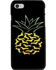 Dachshund - Pineapple Phone Case thumbnail