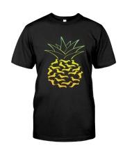 Dachshund - Pineapple Classic T-Shirt front