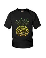 Dachshund - Pineapple Youth T-Shirt thumbnail