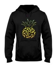 Dachshund - Pineapple Hooded Sweatshirt thumbnail
