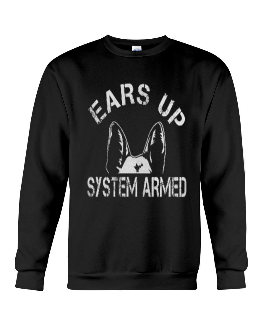 Ears Up System Armed Shepherd Crewneck Sweatshirt