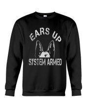 Ears Up System Armed Shepherd Crewneck Sweatshirt front