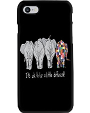 Its Ok To Be Diffrent Elephant Phone Case thumbnail