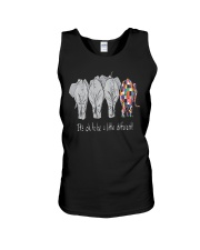 Its Ok To Be Diffrent Elephant Unisex Tank thumbnail