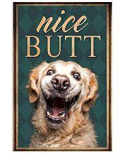 Golden Retriever Nice Butt 11x17 Poster front