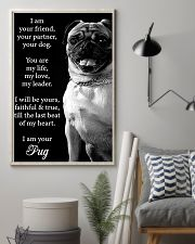 Pug Friend Poster 11x17 Poster lifestyle-poster-1